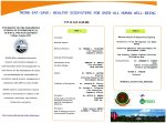 World Environment Day, June 5, 2013 Program II