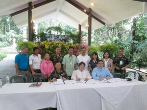 Tri-Party MOU Signing, WED, June 5, 2013