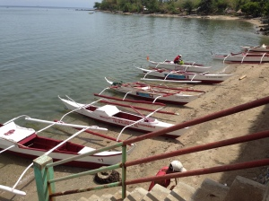 Materials procured for the farmers and fisher folks, who did the actual construction of the bancas upon the supervision of the provincial agriculturist.