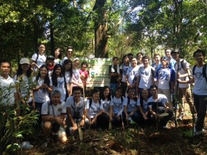 UPLB GeneSoc Youth Step up Drive for Reforestation in Laguna-Quezon Provinces (September 27, 2014)