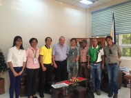 DMMMSU & FEED teams, AgroForestry
