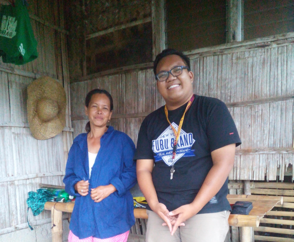 Survey-interview with one of the cattle raisers from Sitio Buslot, Brgy. San Isidro, Rosario, Batangas