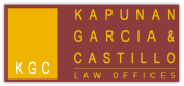 Kapunan Garcia Castillo (KGC) Law Offices LOGO
