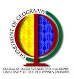 UP Dept of Geography Logo