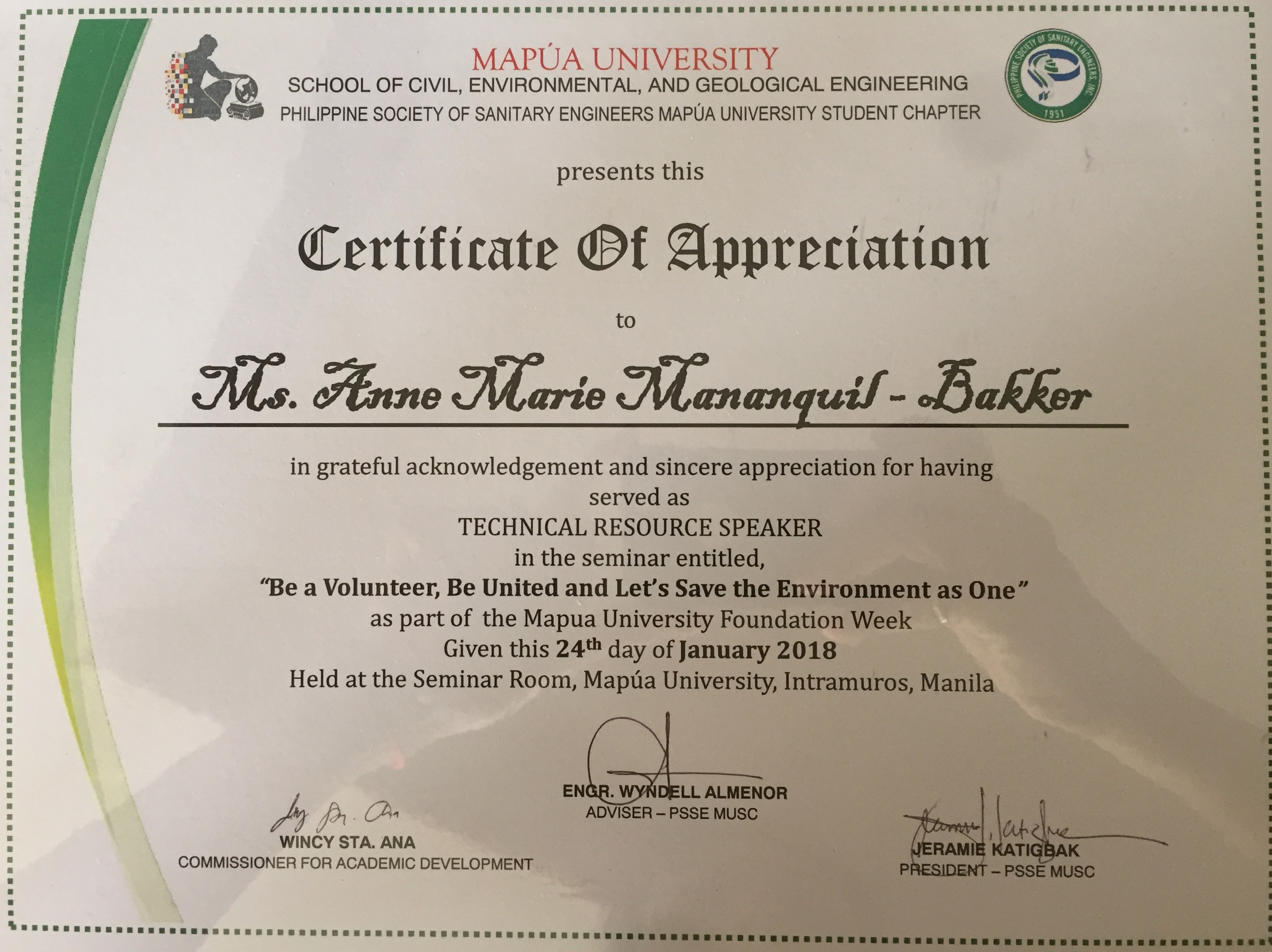 Be a volunteer be united and lets save the environment as one be a volunteer be united and lets save the environment as one mapua university feed inc yadclub Images