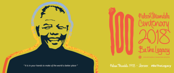 Nelson Mandela Centennary - Be the Legacy.png