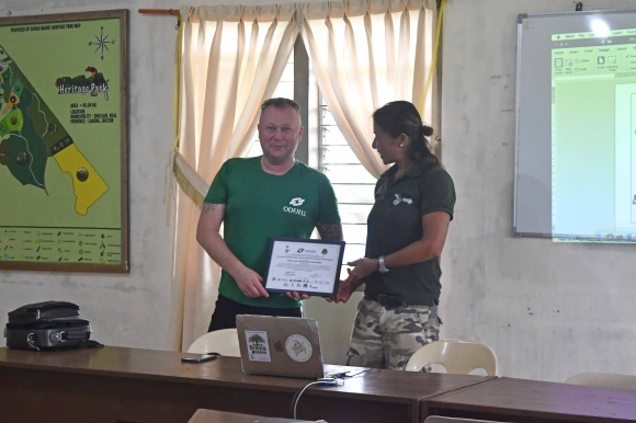 OiP Treeplanting certificate